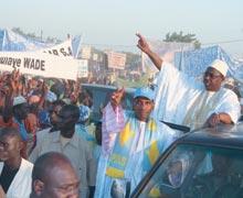 Le Premier ministre Macky Sall de passage à Waoundé