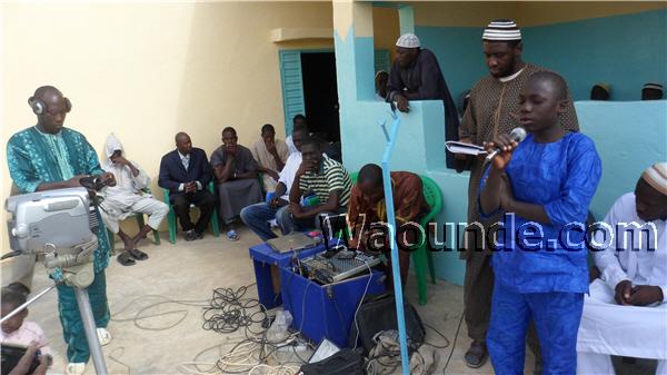Inauguration des nouveaux bâtiments de la daara Manare Sabile
